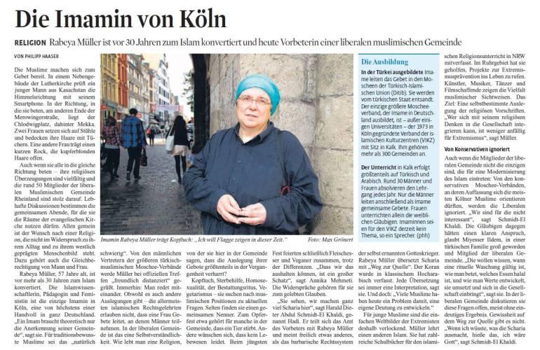 Die Imamin von Köln